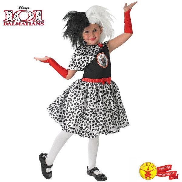 Детски карнавален костюм Disney 101 Далматинци Круела Де Вил 888833