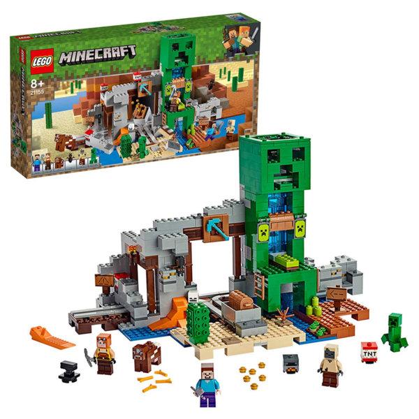 Lego 21155 Minecraft Мина Creeper™