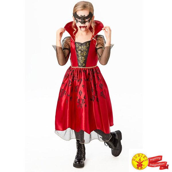 Детски карнавален костюм Вампирка Делукс 300417