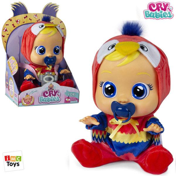 IMC Toys Плачеща кукла Crybabies Lori Parrot 90217