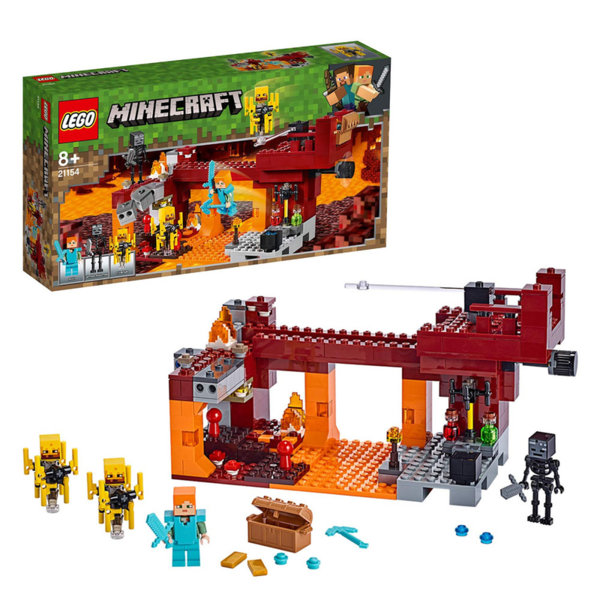 Lego 21154 Minecraft Светещият мост