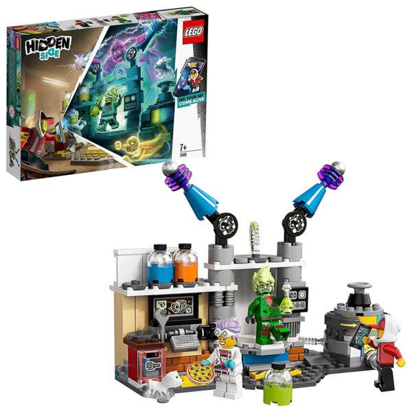 Lego 70418 Hidden Side Лабораторията за духове на J.B.