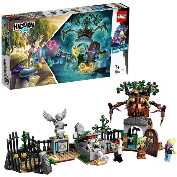 Lego 70420 Hidden Side Мистерия на гробищата