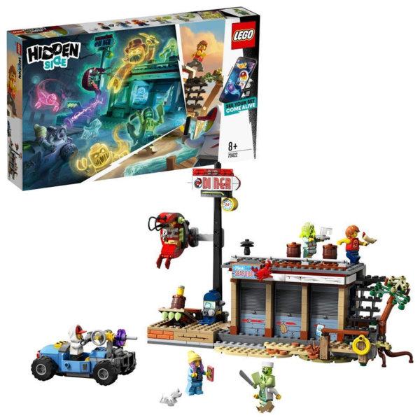Lego 70422 Hidden Side Нападение в ресторанта за скариди