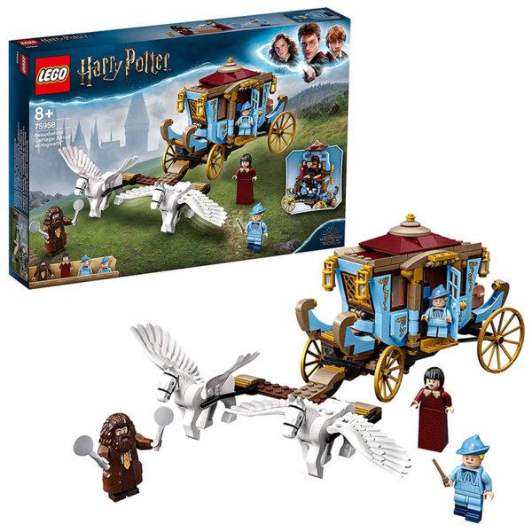 Lego 75958 Harry Potter Каляската на Beauxbatons: Пристигане в Hog