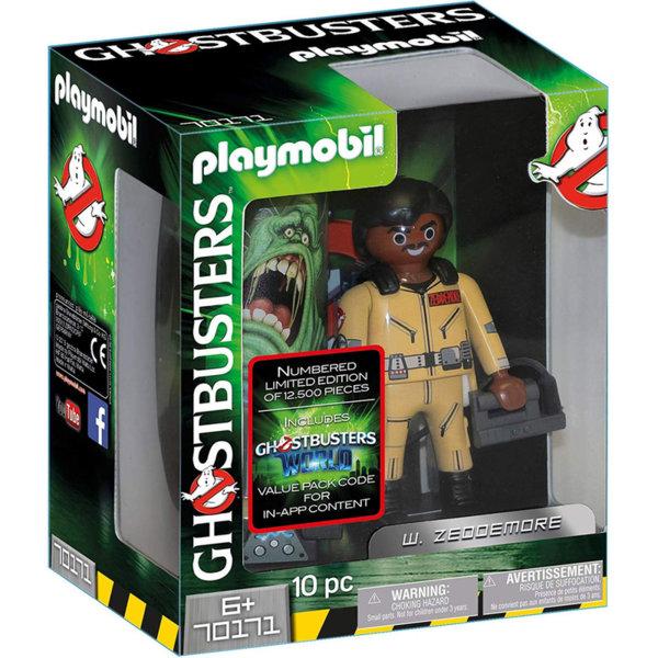 Playmobil Ловци на духове фигура 15см Зедмор 70171