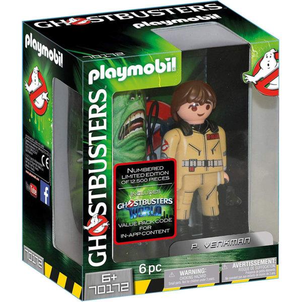 Playmobil Ловци на духове фигура 15см Венкман 70172