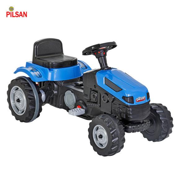 Pilsan - Детски трактор с педали Active син 07314