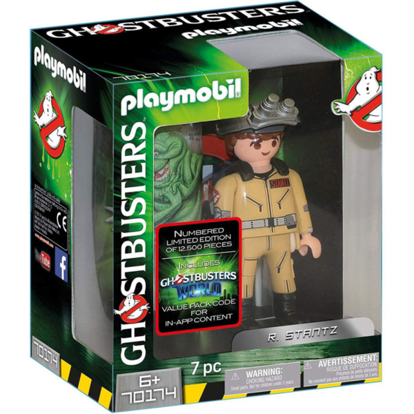 Playmobil Ловци на духове фигура 15см Станц 70174