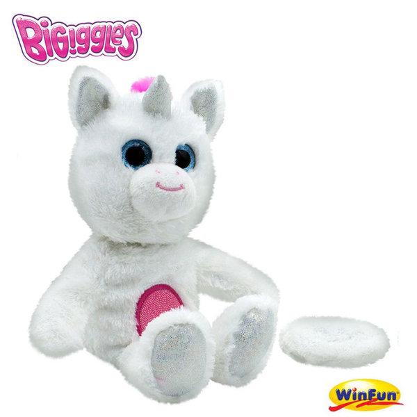 BiGiggles Интерактивни животинки повтарящи със забавен глас Еднорога Phoebe 31019