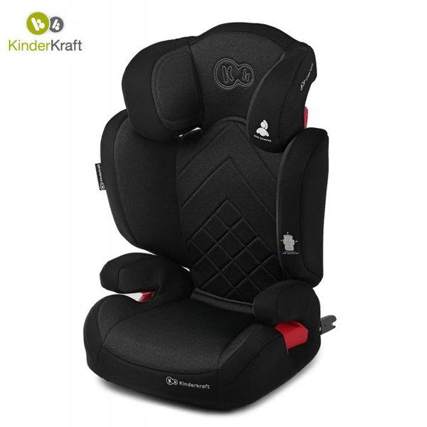 Kinderkraft Столче за кола Xpand Isofix 15-36 кг черно KKFXPANBLK0000