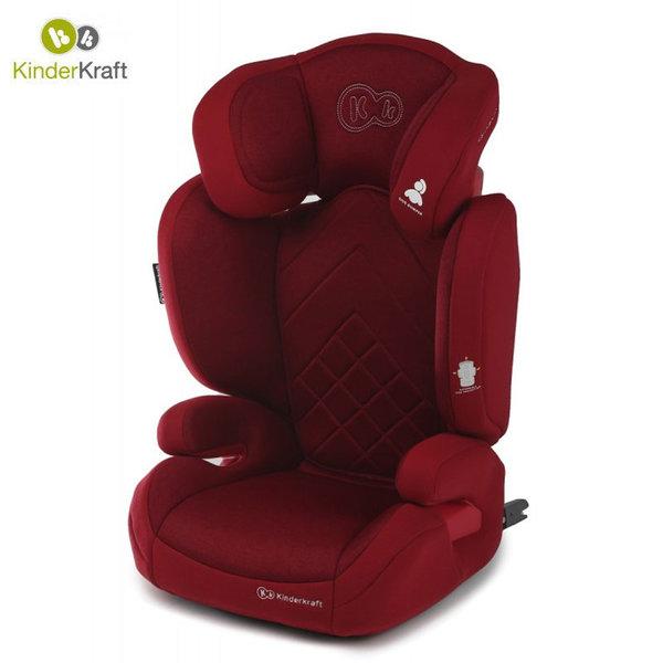 Kinderkraft Столче за кола Xpand Isofix 15-36 кг червено KKFXPANRED0000