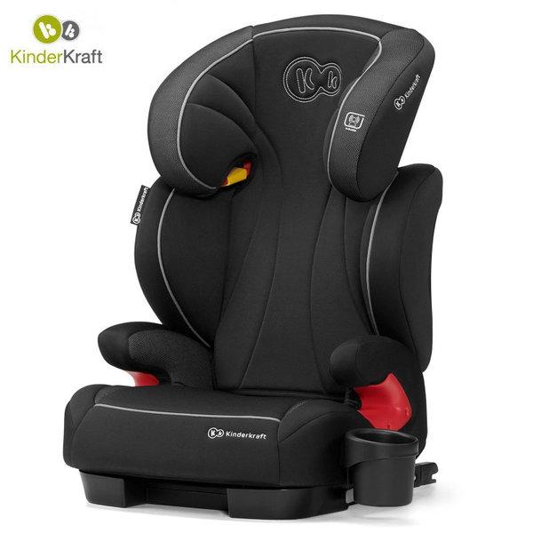 Kinderkraft Столче за кола Unity Isofix 15-36 кг черно KKFUNITBLK0000