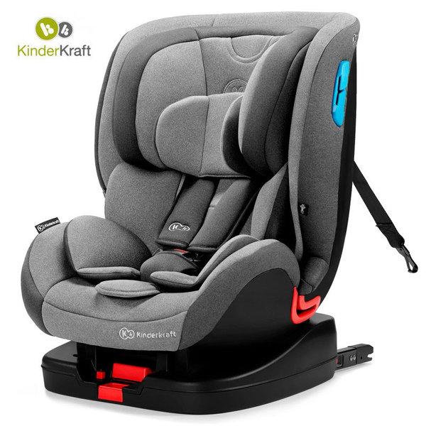 Kinderkraft Столче за кола Vado Isofix 0-25 кг сиво KKFVADOGRY0000