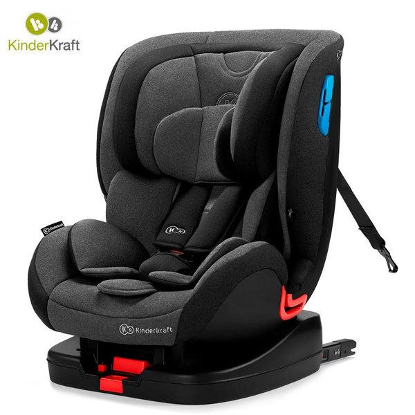 Kinderkraft Столче за кола Vado Isofix 0-25 кг черно KKFVADOBLK0000