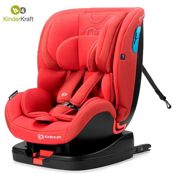 Kinderkraft Столче за кола Vado Isofix 0-25 кг червено KKFVADORED0000