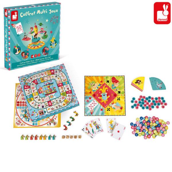 Janod Комплект 50 детски игри J02742