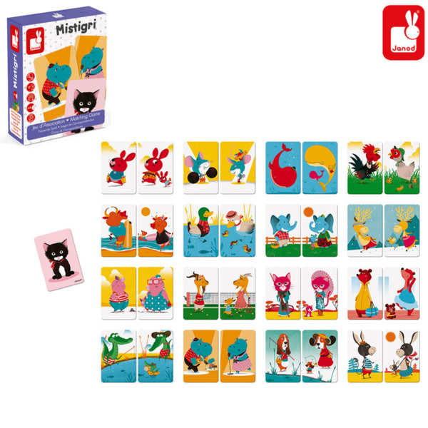 Janod Детска игра Mistigri J02752