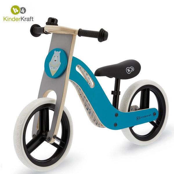 Kinderkraft Детско колело за балансиране Uniq тюркоаз 22550