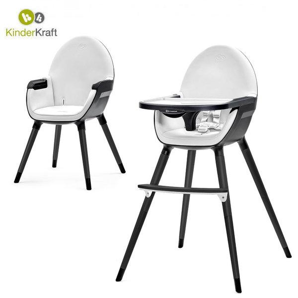 Kinderkraft Детски стол за хранене 2в1 Fini 22445