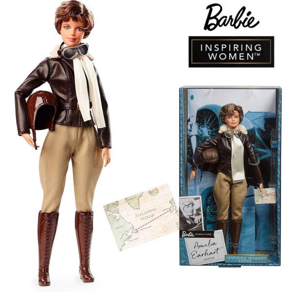 Barbie Inspiring Women Колекционерска кукла Барби Amelia Earhart FJH62