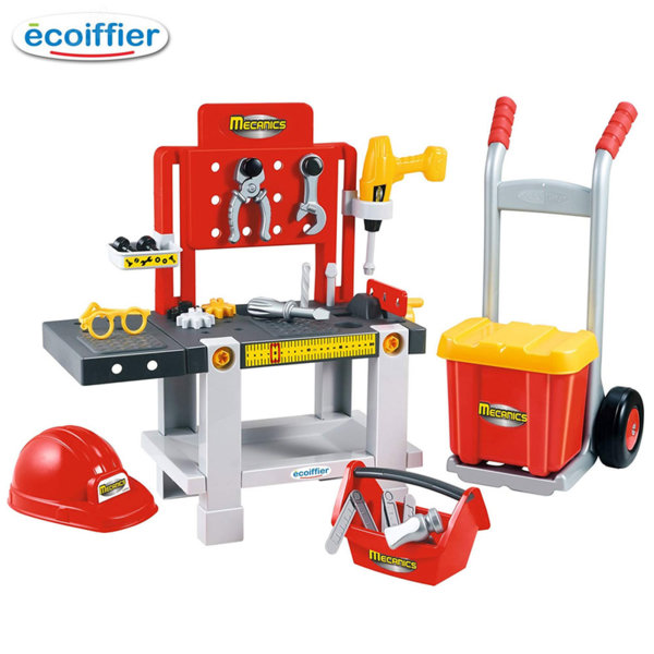 Ecoiffier Детска работилница с аксесоари 4в1 2379