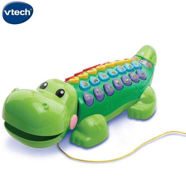 Vtech Детска образователна играчка Алигатор 178403