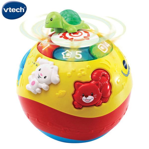 Vtech Забавна топка с животни в жълто 184903
