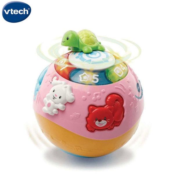 Vtech Забавна топка с животни в розово 184953