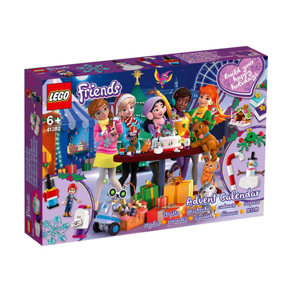 Lego 41382 Friends Коледен календар