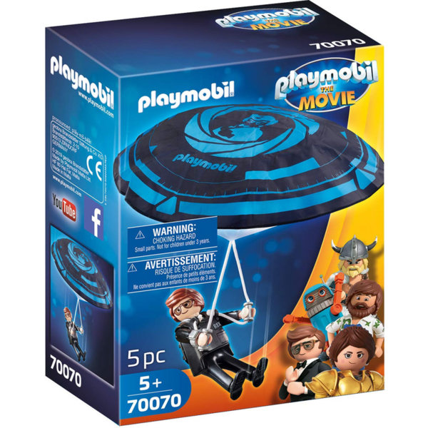 Playmobil Рекс Дашър с парашут 70070