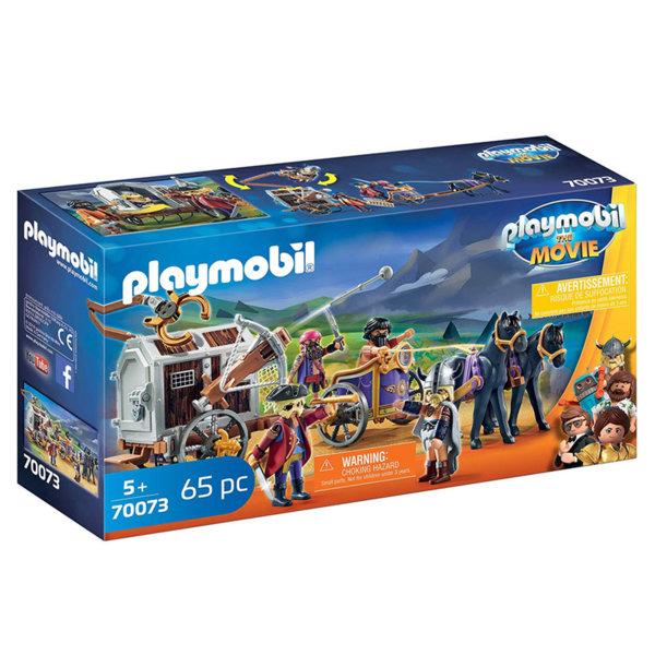 Playmobil Чарли със затворническия вагон 70073