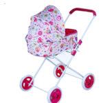 Детска зимна количка за кукли 95611