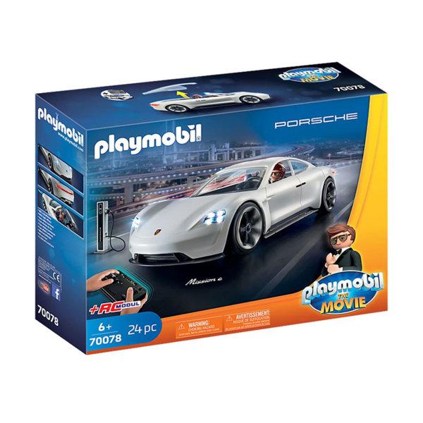 Playmobil Рекс Дашър с Porsche Mission E 70078