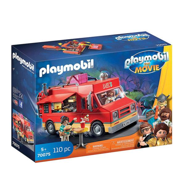 Playmobil Камионът за храна на Дел 70075