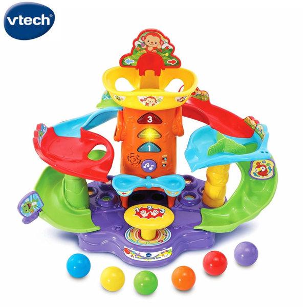 Vtech Бебешки интерактивен център с топки 505403