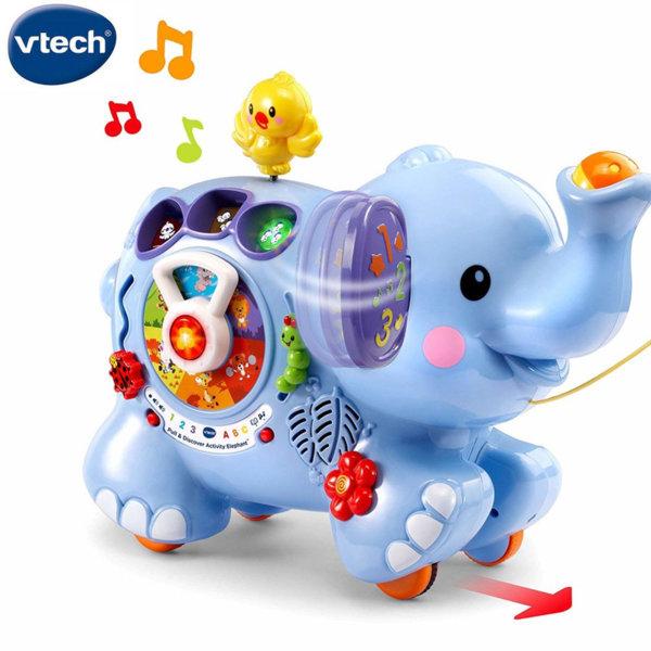 Vtech Образователно слонче за дърпане 505803