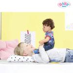 Baby Born Интерактивна кукла момче 825365