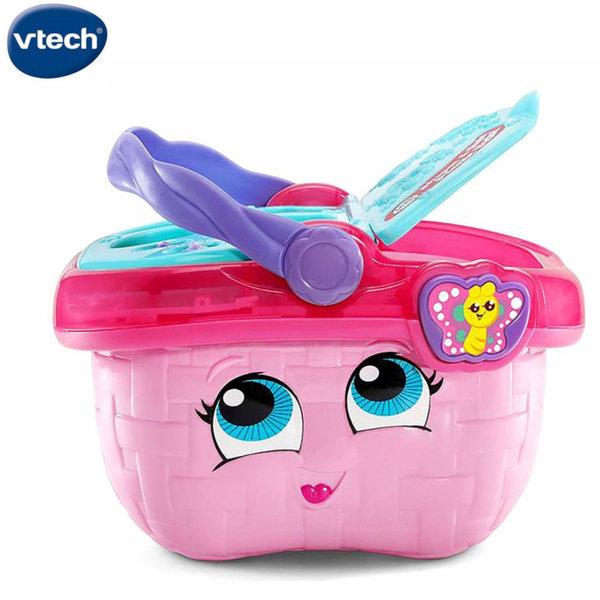 Vtech Кошница за пикник и сортер 2в1 розова 603603