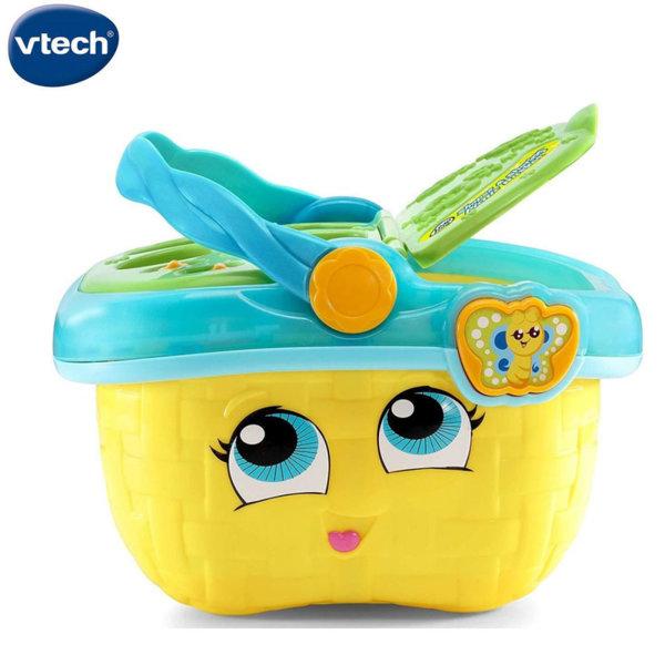 Vtech Кошница за пикник и сортер 2в1 жълта 603653