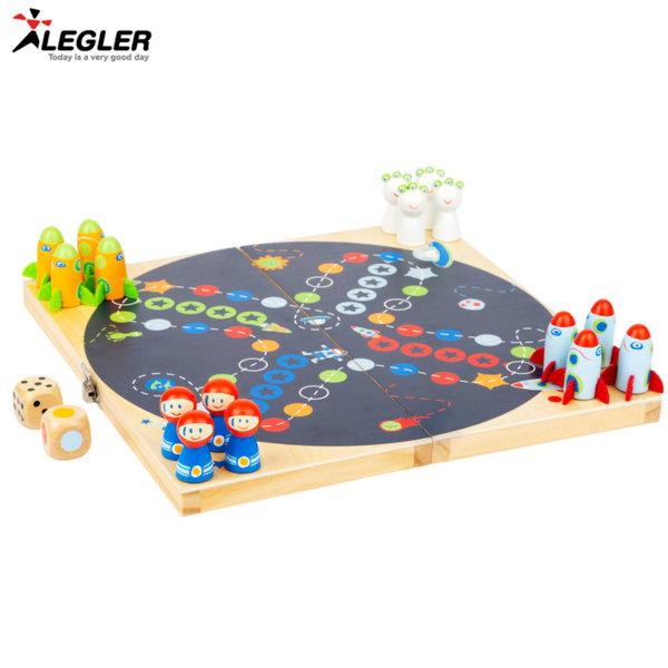 Legler Дървена игра Ludo Космос 11452