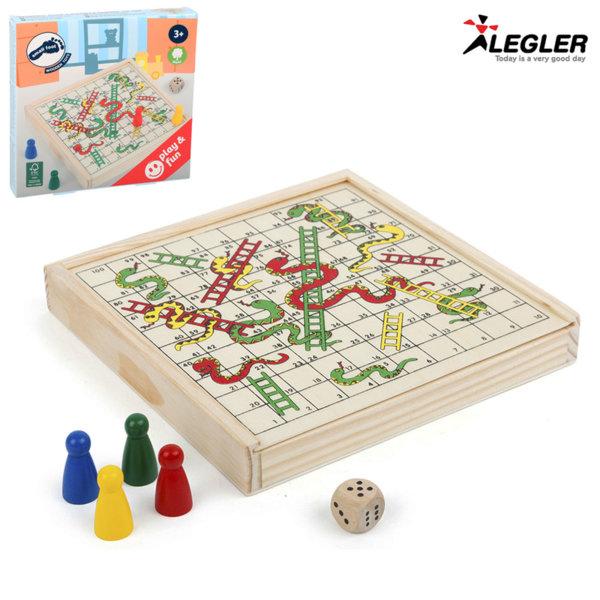 Legler Дървена игра Змии и стълби 11211