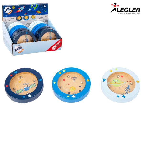 Legler Дървена мини игра с топчета Космос 11447