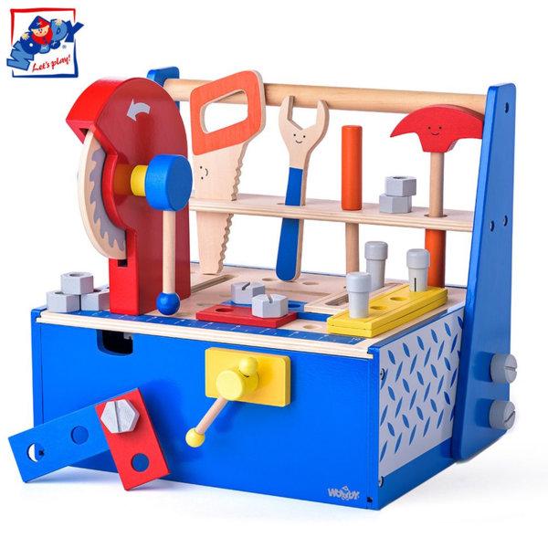 Woody Дървено сандъче с инструменти 91932