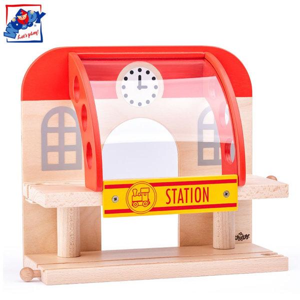 Woody Дървена двуетажна гара 92102