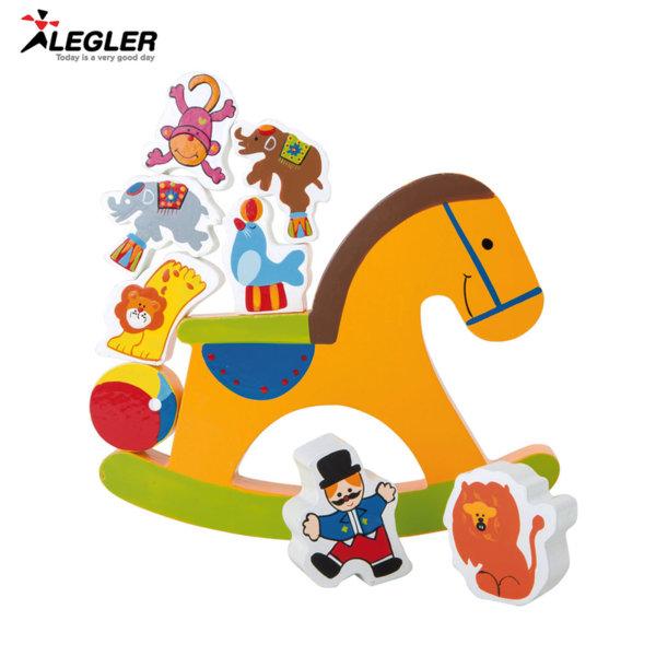 Legler Дървена играчка за баланс Конче с играчки 10150