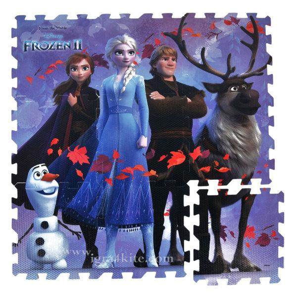 Disney Frozen II Мек килим пъзел Замръзналото зарство 2 81121