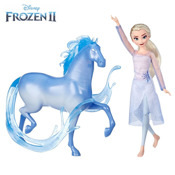 Disney Frozen II Кукла Елза и Нок Замръзналото Кралство 2 E5516