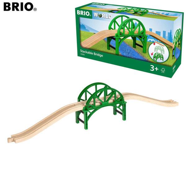 Brio Дървен мост за влакoво трасе 33885