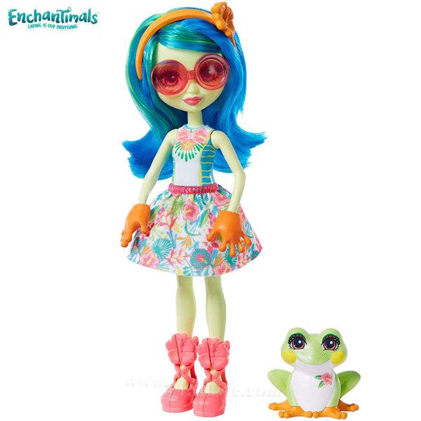 Enchantimals Пазители на гората Кукла Tamika с жабка GFN43